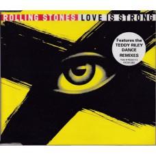 ROLLING STONES Love Is Strong (6 versions) (Virgin VSCDX 1503 / 724389255522) UK 1994 single CD