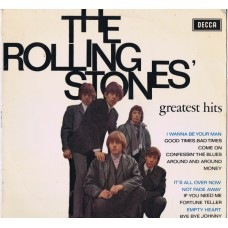 ROLLING STONES Greatest Hits (Decca DU 175000) Holland 1964 LP (first pressing)