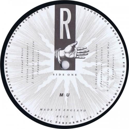 MU Mu (Reckless Records RECK 4) UK 1988 LP (Merrell