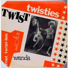 TWISTIES - Twist-Les / WANDA Twisties Twist (JanJé 106797) Holland 1962 PS 45