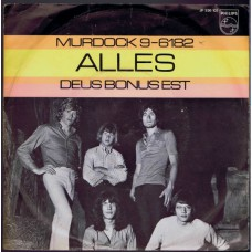 ALLES Murdock 9-6182 / Deus Bonus Est (Philips 336107) Holland 1969 PS 45