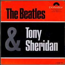 BEATLES & TONY SHERIDAN My Bonnie +3 (Polydor 76586) Germany 1963 PS EP