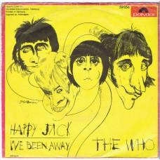 WHO,THE Happy Jack / I've Been Away (Polydor 59056) Germany 1966 PS 45
