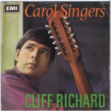 CLIFF RICHARD Carol Singers EP (Columbia SEG 8533) UK 1967 PS EP