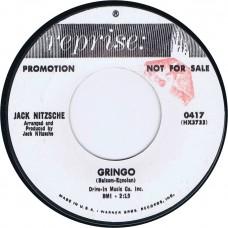 JACK NITZSCHE African Waltz / Gringo (Reprise 0417) USA 1965 Promo 45