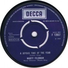 MARTY FELDMAN A Joyous Time Of The Year / the B Side (Decca 12857) UK 1968 45