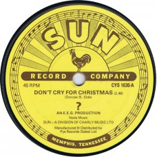 ? (ORION) Don't Cry For Christmas / Dr. X-Mas (Sun CYS 1030) UK 1977 45