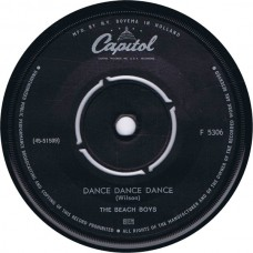 BEACH BOYS Dance Dance Dance / The Warmth Of The Sun (Capitol 5306) Holland 1964 45