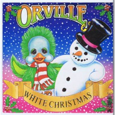KEITH HARRIS AND ORVILLE White Christmas / That's What I Wish For Christmas (Columbia DB 9121) UK 1985 PS 45