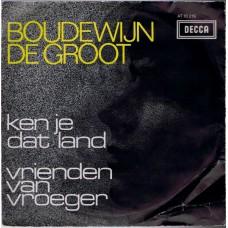BOUDEWIJN DE GROOT Ken Je Dat Land (Decca AT 10219) Holland 1966 PS 45