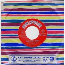 TEMPERANCE SEVEN Heart Hearted Hannah (Parlophone 4823) UK 1961 cs 45