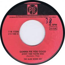 ALAN BOWN SET Gonna Fix You Good / I Really Really Care (PYE 17256) Holland 1967 45