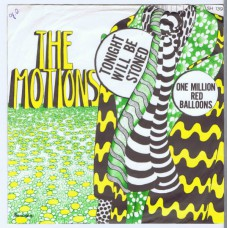 MOTIONS Tonight Will Be Stoned / One Million Red Balloons (Havoc 139) Holland 1967 PS 45