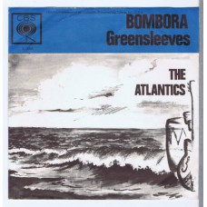 ATLANTICS Bombora / Greensleeves (CBS 1288) Holland 1963 PS 45