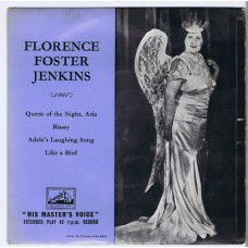 FLORENCE FOSTER JENKINS Queen Of The Night +3 (His Master's Voice 7EB6022) UK 1956 PS EP