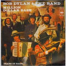 BOB DYLAN & THE BAND Million Dollar Bash (CBS 3665) Germany 1976 promo PS 45