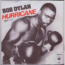 BOB DYLAN Hurricane Part 1+2 (CBS 3841) Germany 1975 PS 45