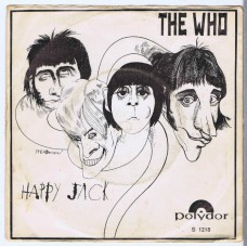 WHO,THE Happy Jack / I've Been Away (Polydor S 1218) Holland 1966 PS 45