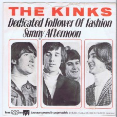 KINKS Dedicated Follower Of Fashion / Sunny Afternoon (BR. Music 45091) Holland 1985 re. PS 45