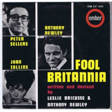 PETER SELLERS / JOAN COLLINS / ANTHONY NEWLEY Fool Britannia EP (EMB E.P. 4530) UK 1963 PS EP