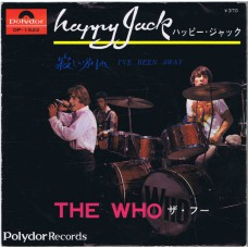 WHO, THE Happy Jack / I've Been Away (Polydor DP 1522) Japan 1967 PS 45