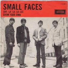 SMALL FACES Sha-La-La-La-Lee / Grow Your Own (Decca F 12317) Holland 1966 PS 45