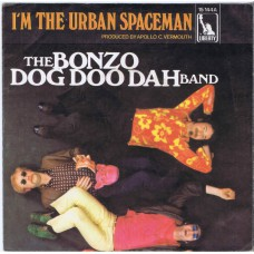 BONZO DOG DOO DAH BAND I'm The Urban Spaceman / Canyons Of Your Mind (Liberty 15144) Germany 1968 PS 45