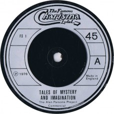 "ALAN PARSONS PROJECT Tales Of Mystery And Imagination (Charisma FS 1) UK 1976 PROMO ONLY 7"" EP"
