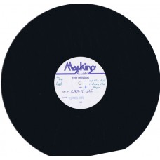 """LOFT Up The Hill & Down The Slope +3 (Creation Records CRE T 015) UK 1985 white label test pressing advance 12"""" EP"""