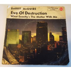 BARRY MCGUIRE Eve Of Destruction / What Exacly's The Matter With Me (RCA 45-9646) Germany 1965 PS 45