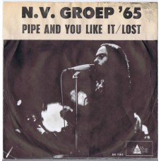 N.V. GROEP '65 Pipe and You Like It / Lost (Delta DS 1183) Holland 1966 PS 45