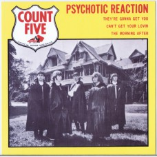 COUNT FIVE Psychotic Reaction / They're Gonna Get You / Can't Get Your Lovin / The Morning After (Disc AZ EP 1058)