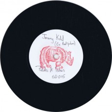 """JEREMY KIDD Petals + Ashes (A Song For Emma Goldman) / Crocodile Tears (Self Drive SD 015) UK 1985 7"""" white label test pressing 45"""