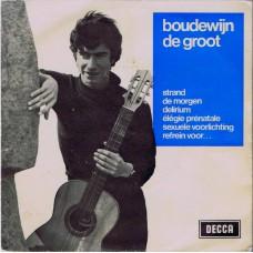 BOUDEWIJN DE GROOT Strand +5 (Decca BU 70003) Holland 1964 PS EP