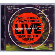 NEIL YOUNG +CRAZY HORSE Year Of The Horse Live (Reprise 46652-2) Germany 1997 2CDs