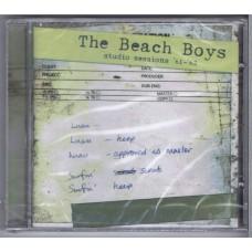 BEACH BOYS Studio Sessions '61-'62 (NMC PILOT 62) UK 2000 CD