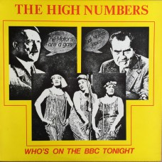 WHO,THE / THE HIGH NUMBERS Who's On The BBC Tonight (American Pride JP 110) USA 1987 Fanclub LP