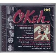 Various OKEH - A Northern Soul Obsession Vol.2 (Kent CDKEND 142 / 029667214223) UK 1963-1970 CD