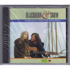 BLACKBURN AND SNOW Something Good For Your Head (Big Beat Records CDWIKD 189) UK 1999 release of 60s recording CD