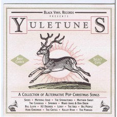 Various YULETUNES (Black Vinyl Records BV12591-2) USA 1991 Xmas CD