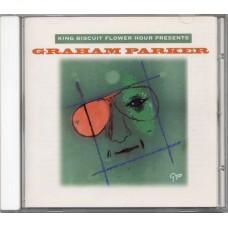 GRAHAM PARKER King Biscuit Flower Hour Presents Graham Parker (King Biscuit Flower Hour Records 70710-88060-2) USA 1983 CD