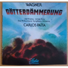 WAGNER Götterdämmerung | The Philharmonic Symphony Orchestra, Carlos Païta (Lodia LO CD 785) Japan 1984 CD