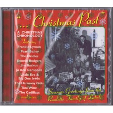 Various ‎...CHRISTMAS PAST (Westside ‎WESM 548) UK 1998 CD of 50's songs