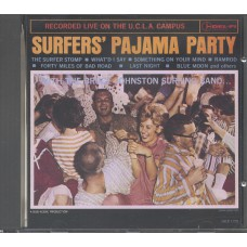 BRUCE JOHNSTON SURFING BAND Surfers' Pajama Party (Del-Fi Records DFCD 71228-2) USA 1963 CD