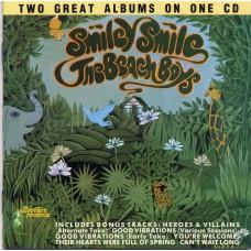 BEACH BOYS Smiley Smile / Wild Honey (Capitol CDP 7 93696 2) USA 1967 2LPs on one CD