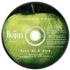 BEATLES Free As A Bird (Apple CDFREEDJ 1) UK One Track 1995 PROMO CD