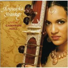 ANOUSHKA SHANKAR Live At Carnegie Hall (Angel Records 7243 5 34922 2 9) USA 2001 CD