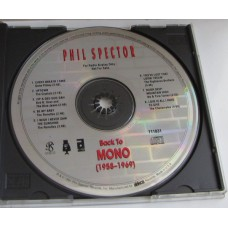 PHIL SPECTOR Back To Mono (ABKCO 711831) USA 1991 promo only Sampler CD