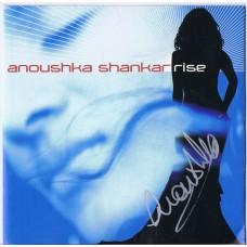 ANOUSHKA SHANKAR Rise (Angel Records 094635495027) EU 2005 Autographed CD
