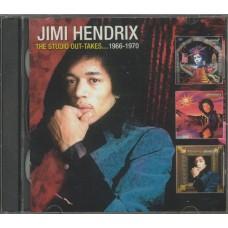 JIMI HENDRIX The Studio Outtakes.... 1966-1970 (Radioactive RR2CD048) UK compilation 2CD-Set